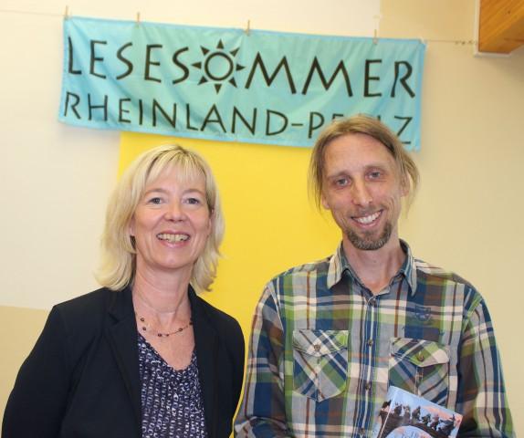 Eröffnung des Lesesommers 2014: Doris Ahnen und Rainer Rudloff